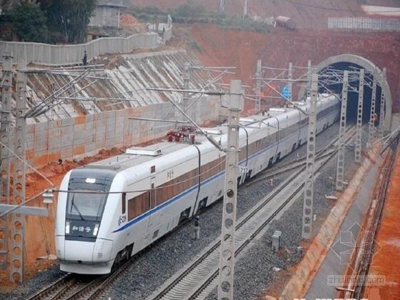 II型双块式资料下载-[广西]时速250公里铁路隧道设计图纸全套574张(知名大院平导斜井洞门边坡)
