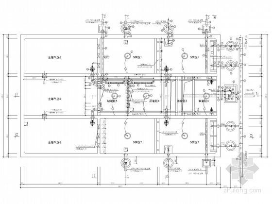 [浙江]6000吨污水处理厂及配套管网工程全套图纸(含电气 土建结构)