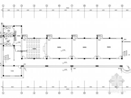 [浙江]教学楼改造工程给排水消防施工图