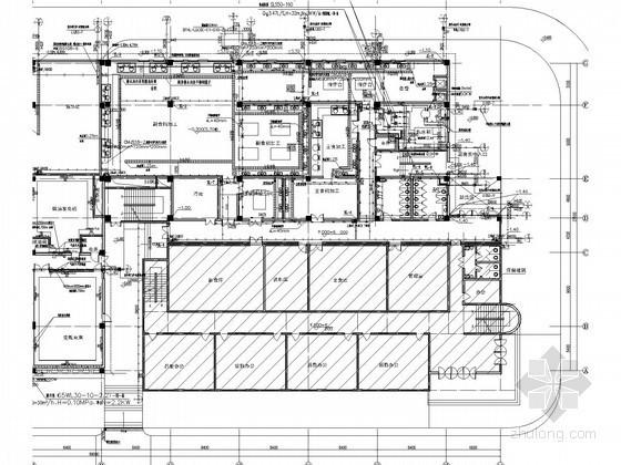 [山东]学校续建食堂风雨操场及综合楼给排水施工图(热水系统)