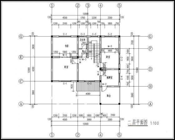 5套造价15万以内农村小二层自建房设计图图片