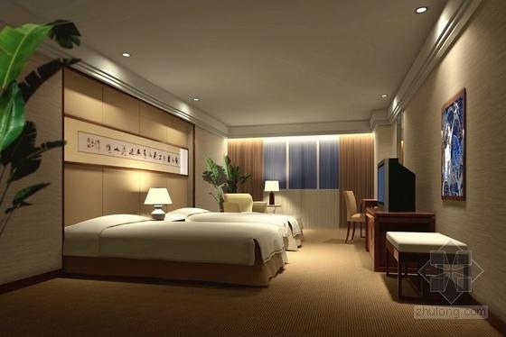 [宜昌]01经济开发区核心地带五星级商务酒店方案设计 双人客房