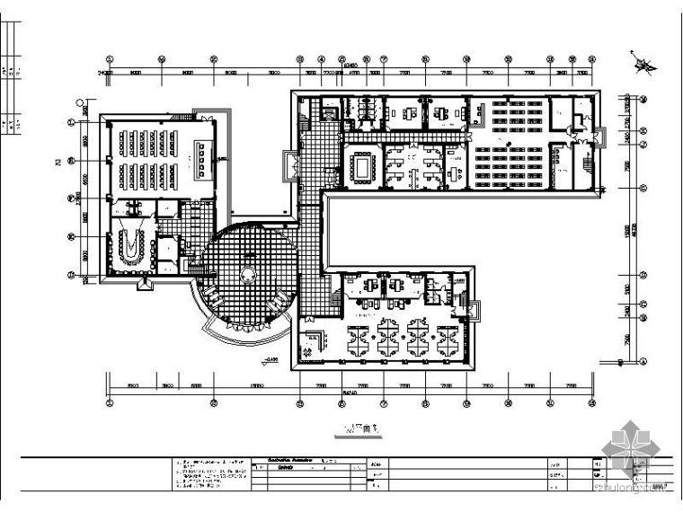 [株洲]某南车电机办公楼设计图赏析