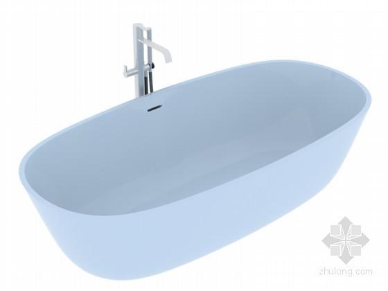 家庭浴缸3D模型下载
