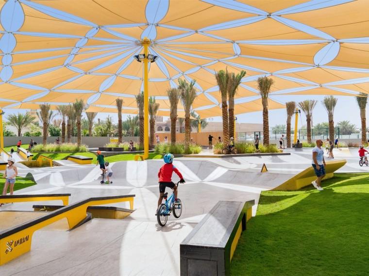 迪拜风筝海滩