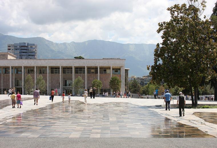 阿尔巴尼亚Skanderbeg广场改造-4
