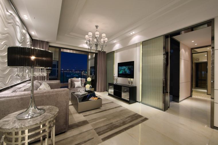 沈阳软装设计_窗帘壁纸搭配_现代风格家具搭配-2.jpg