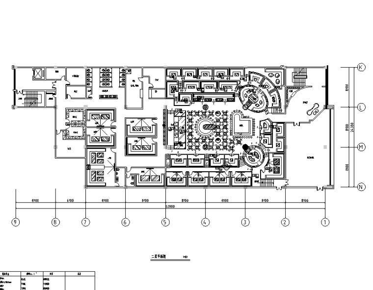 [河北]FD酒吧空间设计施工图(附效果图)