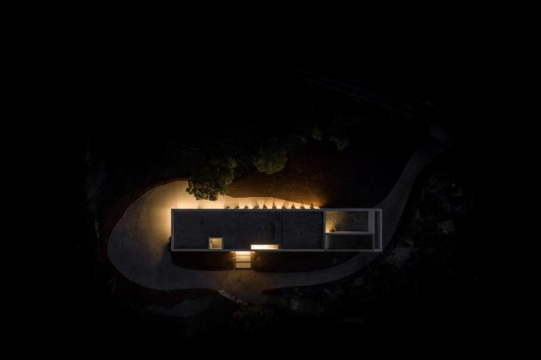 葡萄牙雕塑艺术般写意的住宅-1551071472962019