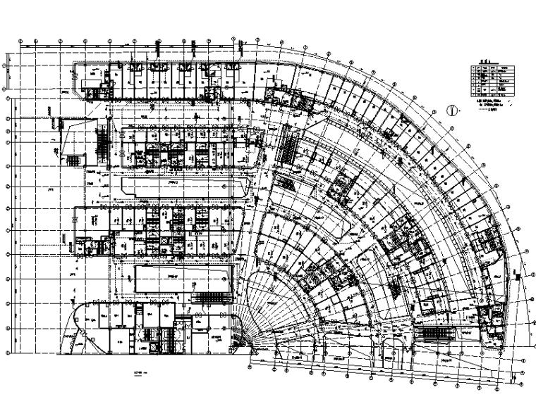 重庆恒大中央广场超高层商业综合体电气施工图