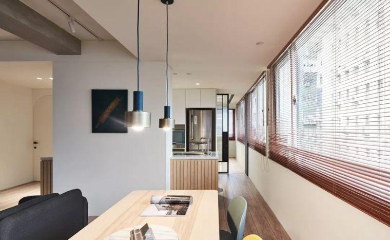 73㎡ 现代简约风,1㎡ 都不浪费的居家设计