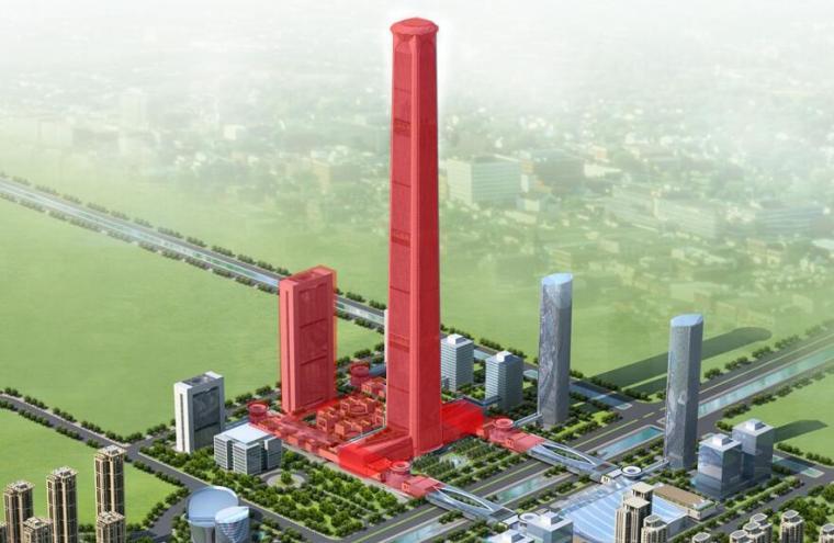 [天津]597m超高层地标项目机电施工关键技术培训讲义PPT(50页)