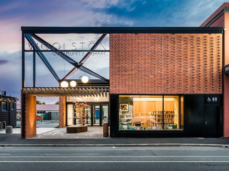 新西兰Woolston社区图书馆