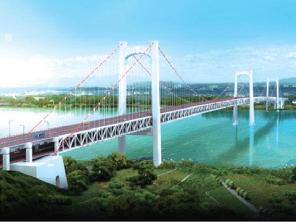 瓯江北口大桥中塔世界首创,钢沉井20层楼高!