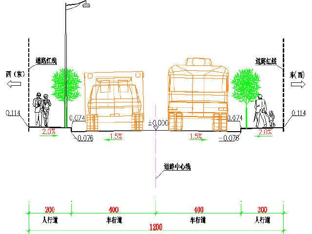 [云南]工业园区12m宽中型交通量沥青路面城市支路工程设计图346张CAD(含挡土墙交通)