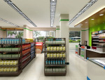 (原创)超市商店设计案例效果图