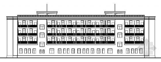某四层商务宾馆建筑施工图