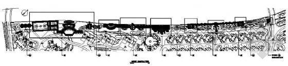 宁波花园小区全套景观施工图