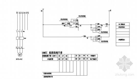 某污水处理工程电气设计图-