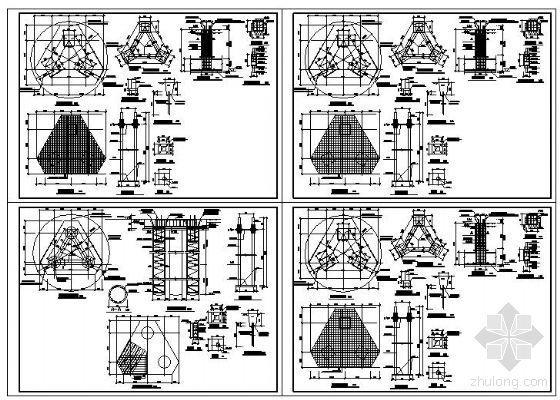 某通讯公司铁塔基础图