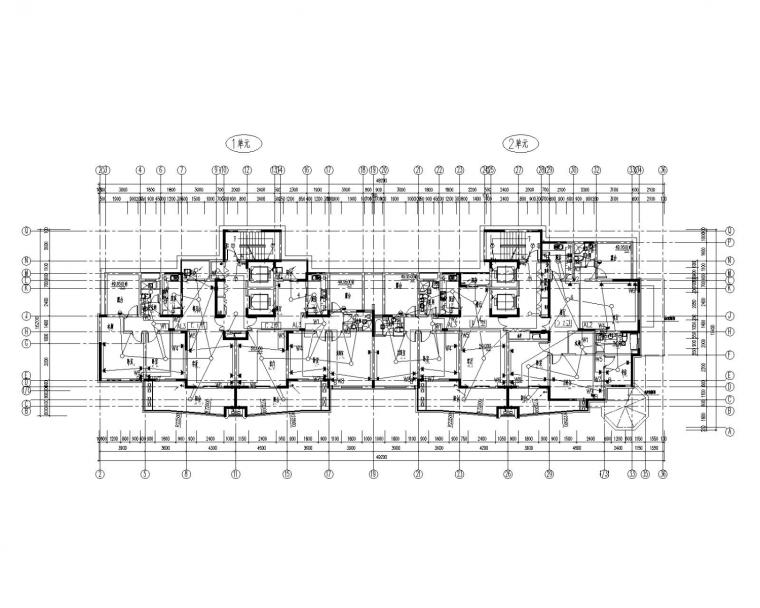 [河南]18层住宅电气施工图