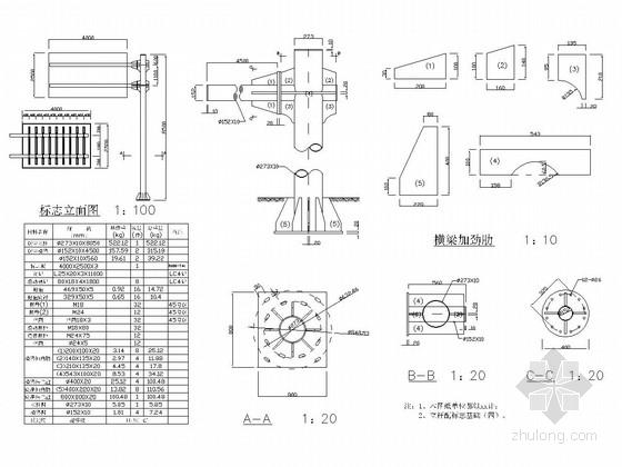 [湖南]城市支路交通工程施工图设计22张