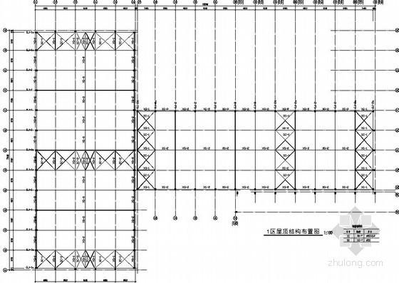 [河南]排架结构厂房结构施工图(独立基础)