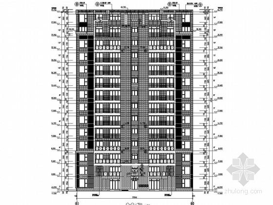 390张8种户型住宅楼建筑结构全套施工图(知名地产)