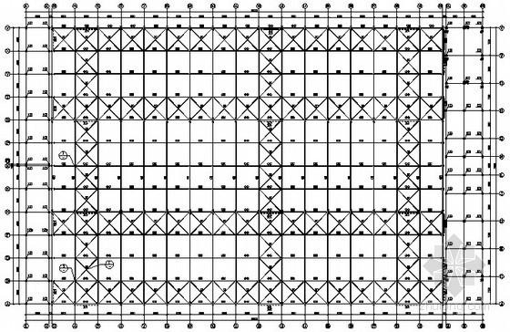 [沈阳]高低跨单层门式刚架厂房结构施工图