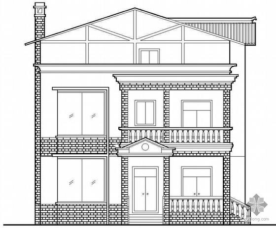 [什邡]某农村三层住宅建筑施工图