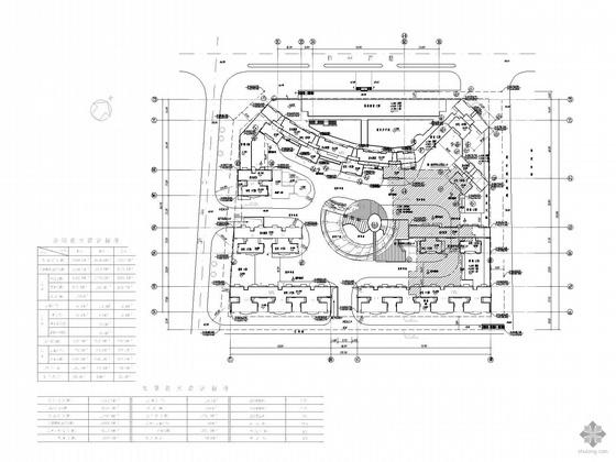 南方某高层住宅小区地下人防工程建筑施工图