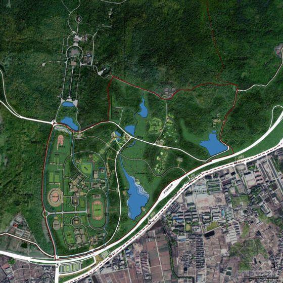 江苏南京风景区体育运动公园景观规划方案