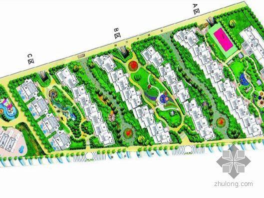 南海玫瑰园住宅小区规划设计文本