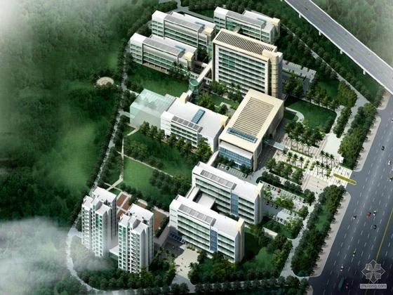 [深圳]某第三人民医院规划与建筑单体设计方案