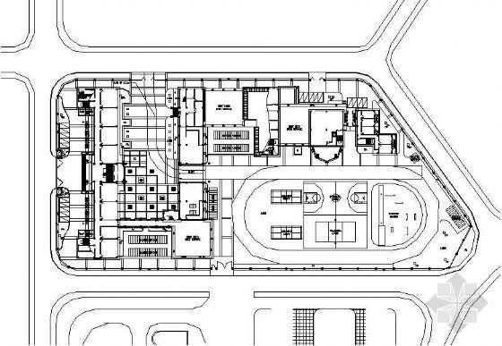 深圳新亚洲花园附属学校全套景观施工图
