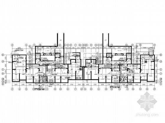 [江苏]三十三层住宅楼项目全套电气施工图纸(含地下室及建筑底图)