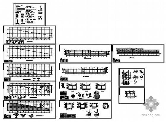 东莞某钢结构厂房设计图纸