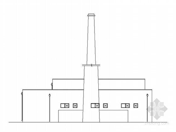 [哈尔滨]某汽车交易场锅炉房建筑方案图