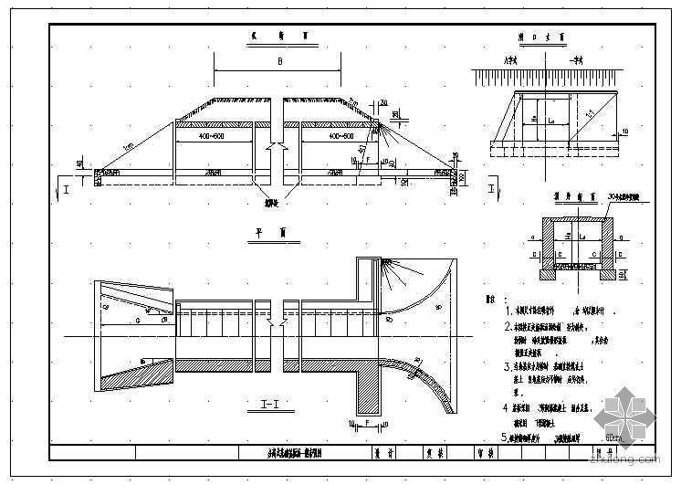 某公路盖板涵设计标准图