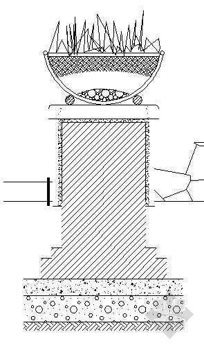 花坛座椅施工图