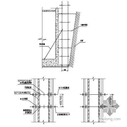 天津某高层住宅模板施工方案(竹胶板 附计算书)