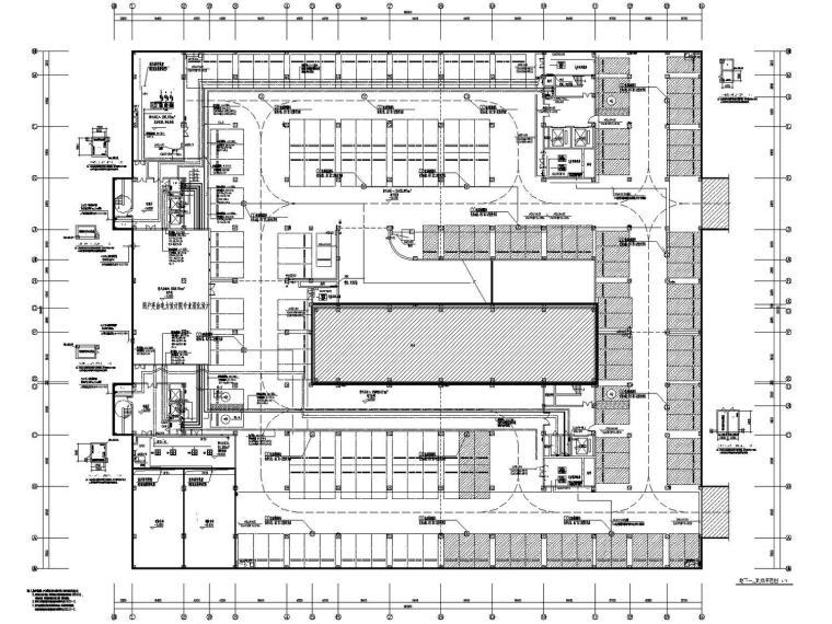 [江苏]黑牡丹科技园研发楼电气施工图(含光伏发电系统)