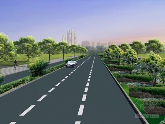 [浙江]道路景观提升工程量计算及工程量清单(附施工图纸)