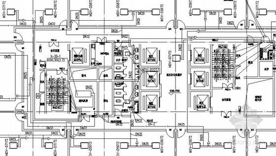 办公楼冷媒水管布置图
