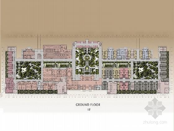 [海南]皇家园林酒店室内设计概念方案(含报价表)