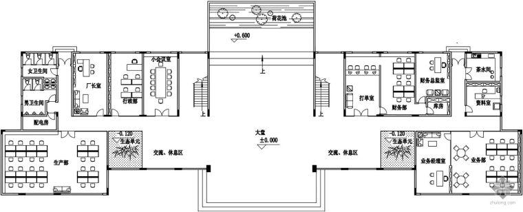 简约化办公室设计图赏析