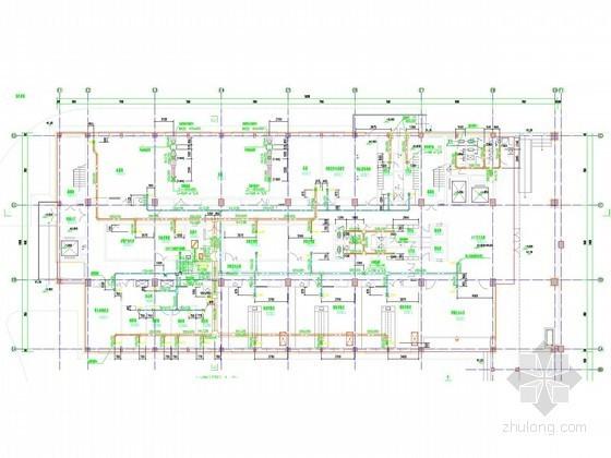 动物疾控中心空调通风及防排烟系统设计施工图