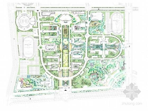 [杭州]校园景观设计方案