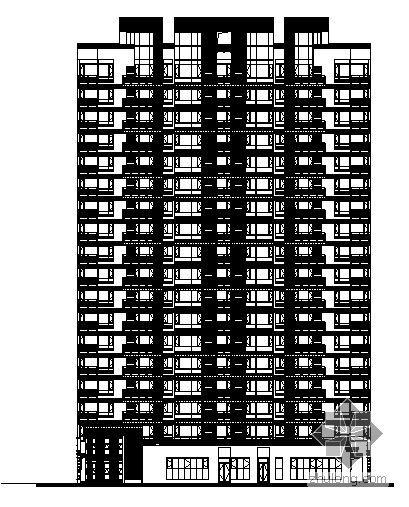 广州市四季花城建筑施工图