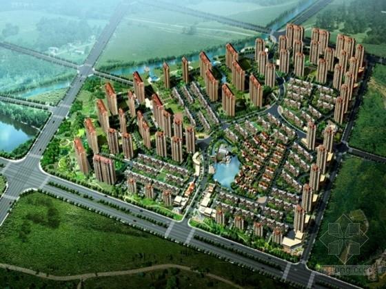 [辽宁]都市休闲主义滨水小区景观规划设计方案